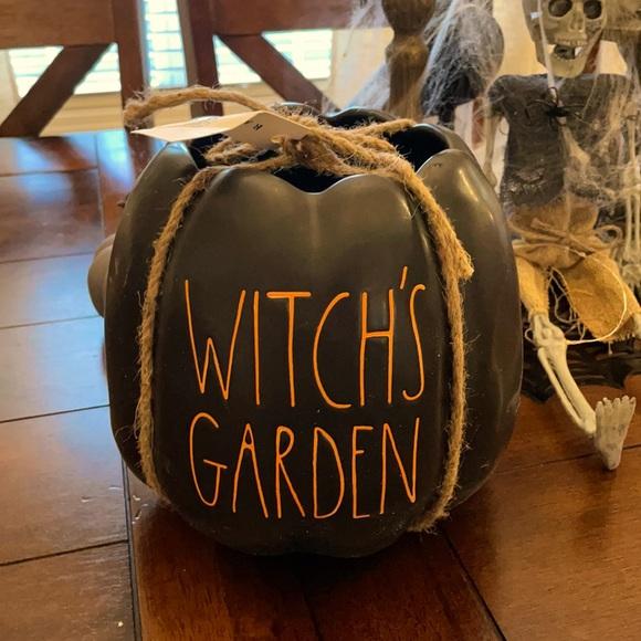 Rae Dunn Witches Garden planter